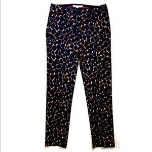 Boden Animal Print Cropped Pants